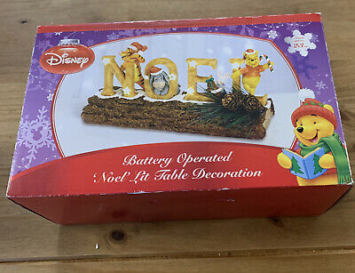£28.99 • Buy Disney Battery Operated Noel Lit Table Decoration Christmas Winnie The Pooh