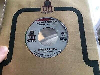 £250 • Buy Hamilton Streetcar - Invisible People, NR MINT/UNPLAYED, Psych/Mod Dancer