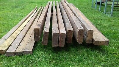 £120 • Buy Wooden Joists 8 Beams 5x2inch X 3m Lengths Reclaimed Total Length Approx 24m
