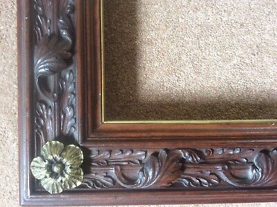 £1450 • Buy Antique Gothic Revival Arts & Crafts Victorian Gilded Wooden Picture Frame C19th