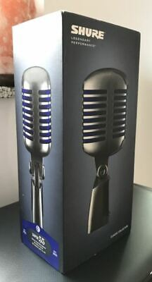 £172.87 • Buy Shure Super 55 Deluxe Dynamic Classic Vocal Microphone Brand New