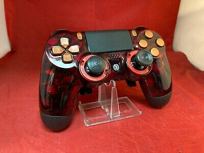 AU233.57 • Buy Scuf Gaming Infinity4PS PRO Playstation 4 PS4 Controller - Red Reaper Shell