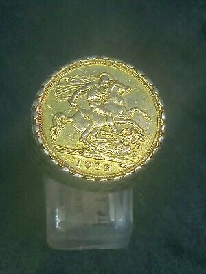 £365 • Buy 9ct Gold Half Sovereign Ring