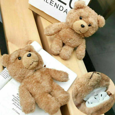 AU13.99 • Buy For Apple AirPods 1/2 Pro Cute Teddy Bear Plush Earphone Case Protective Cover