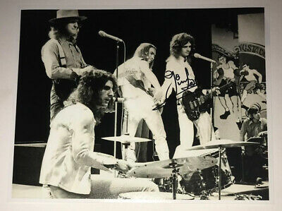 £39.99 • Buy SIGNED JIM LEA 10x8 SLADE PHOTO RARE AUTHENTIC NODDY HOLDER DAVE HILL