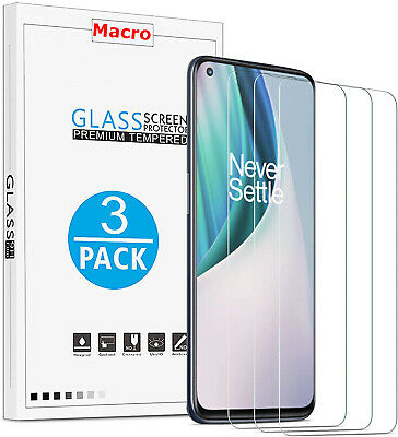 AU9.50 • Buy [3-Pack] Tempered Glass Screen Protector For OnePlus Nord N10 5G / Nord N100