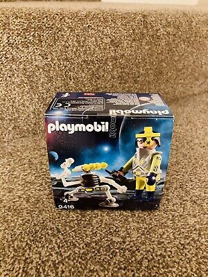 £8.95 • Buy Playmobil ® 9416 Astronaut Space Agent With Robot Easter Egg New