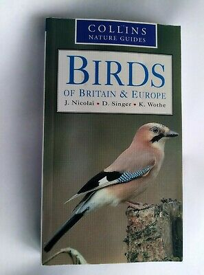 £2.97 • Buy Collins Guide To Birds Of Britain And Europe Book