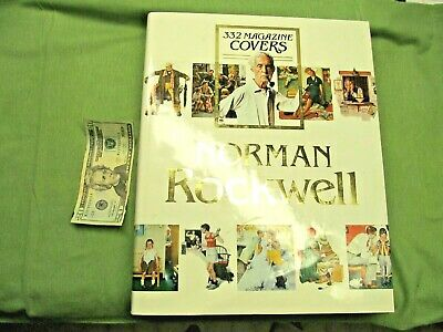 $ CDN44.06 • Buy Norman Rockwell 332 Magazine Covers Coffee Table Book - 11 Pounds!! Appx 15 X12