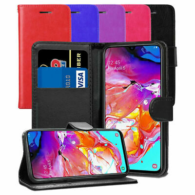 $ CDN6.49 • Buy For Samsung Galaxy Mobile Phone Leather Wallet Case Flip Book With Card Holders