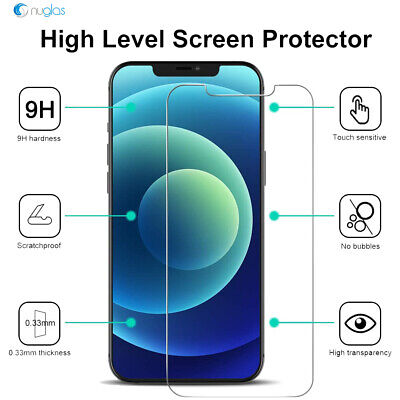 AU9.95 • Buy 2x Screen Protector Nuglas Glass For IPhone11 Pro Max/Xs Max With Applicator