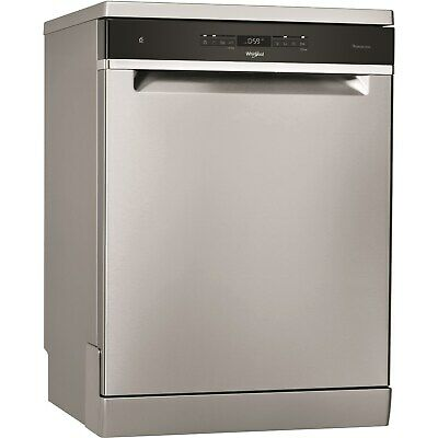 View Details Whirlpool Freestanding Full Size Dishwasher - Stainless Steel Look • 533.96£