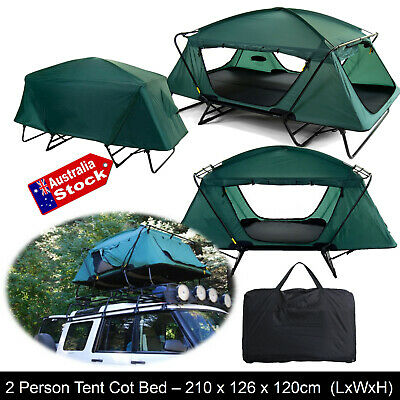 AU285 • Buy Folding Compact  Double Bed Tent Tent Cot Camping Hiking Fishing Camper