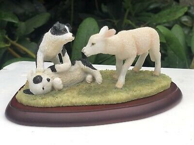 £39 • Buy Border Fine Arts RARE James Herriot Collection Can I Play Dogs Sheep Figure
