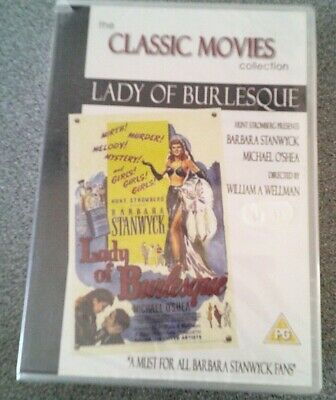 £1.99 • Buy Lady Of Burlesque*dvd*classic Film*barbara Stanwyck*rated Pg*new And Sealed