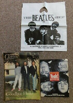£12.99 • Buy 2 X  Beatles Magazines And A Beatles Carrier Bag