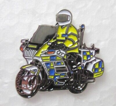 £4.29 • Buy Police Bike Road Traffic Motorbike Motorcycle Lapel Pin Badge Others Listed 1-2