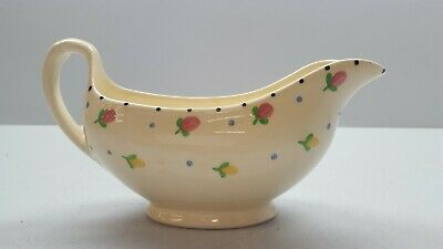 £6.99 • Buy Ridgways Hand Painted Bedford Ware Floral Gravy Boat