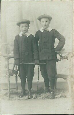 £5.87 • Buy 2 Boys Well Turned-out, Caps & Canes, RP -  Angle, Southwark Park Road   D4/2057