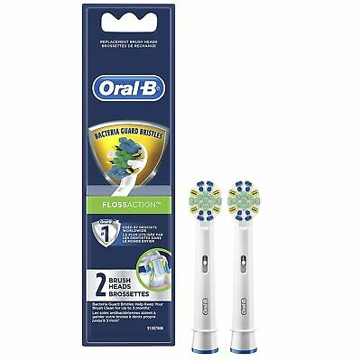 AU9.86 • Buy Oral-B Floss Action Electric Toothbrush Replacement Brush Heads 2 Count #A2