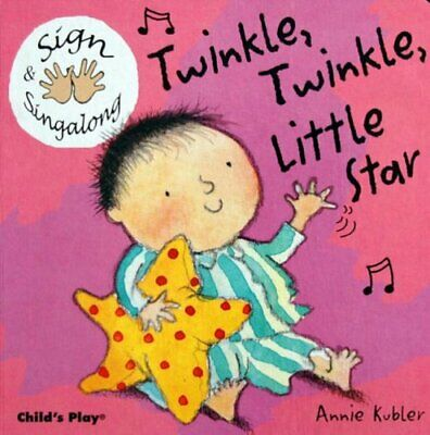 £6.05 • Buy Twinkle Twinkle Little Star: BSL (British Sign Language) (Board Book 2004) Book