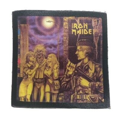 £3.89 • Buy * IRON MAIDEN * Sew On Patch.band,rock,metal,merch,rare,killers,brave