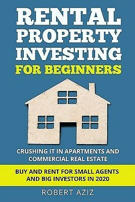 AU32.80 • Buy RENTAL PROPERTY INVESTING FOR BEGINNERS Crushing It In Apartments By Aziz Robert