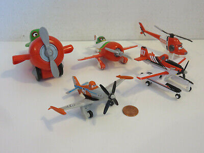 £21.70 • Buy Planes Cars Disney Pixar Diecast Lot Of 5 Helicopter Pull Back