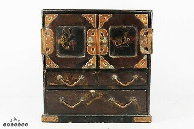 £40 • Buy Antique Japanese Lacquer Table Cabinet