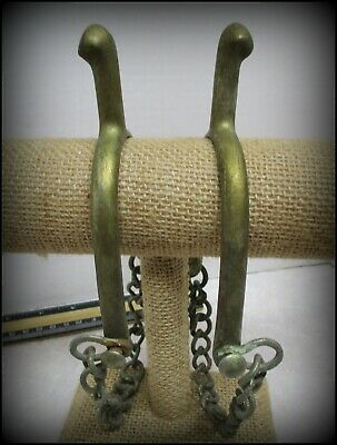 $120 • Buy Great OLD US MILITARY UNMARKED (August Buermann)we Think Spurs With Heel Chains