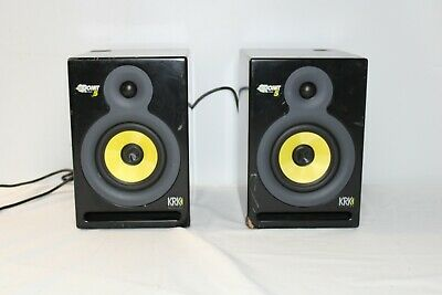 £164.52 • Buy Pair Of KRK Systems Rokit Powered 5 Studio Monitors With Power Cords Works