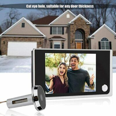 £29.49 • Buy Video Doorbell Smart Camera Wireless Peephole Viewer Ring Bell Home Security