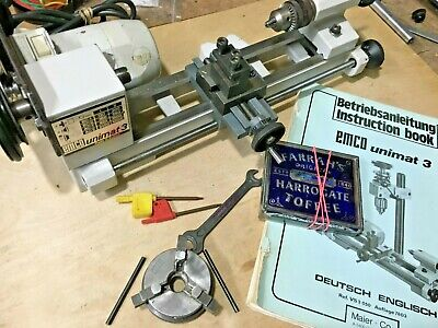 £595 • Buy Emco 3-unimat Lathe . Great Tested Condition,as Pictured.