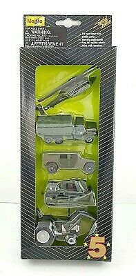 $ CDN22.56 • Buy Maisto 5 Five Star Series Special Edition Military Diecast Cars 5 Pack 1/64