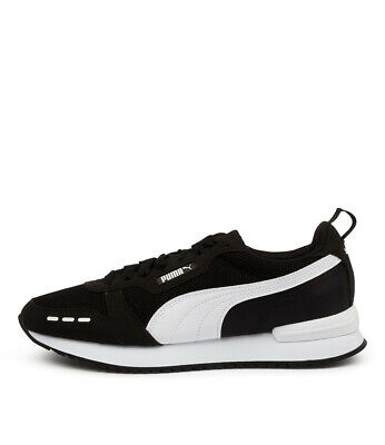 AU60 • Buy New Puma R78 Black White Mens Shoes Casual Sneakers Casual