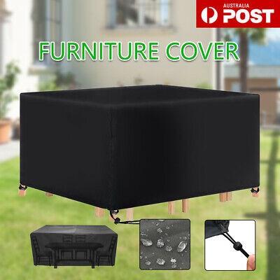 AU17.95 • Buy Outdoor Furniture Cover UV Waterproof Garden Patio Table Shelter Chair Sofa AU