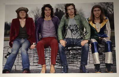 £39.99 • Buy SIGNED JIM LEA 12x8 SLADE PHOTO RARE AUTHENTIC NODDY HOLDER DAVE HILL