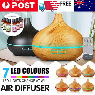 AU23.54 • Buy Essential Oil Humidifier Air Diffuser Ultrasonic Aroma Aromatherapy Air Purifier