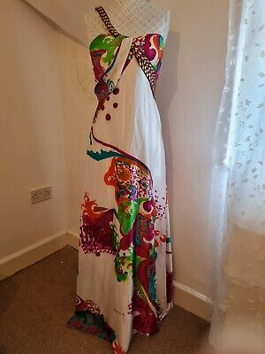 £7 • Buy Ever Pretty Satin Maxi/Evening/Wedding/Cocktail  Dress UK14 - New With Tags