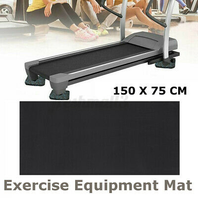 AU21.88 • Buy Exercise Mat Gym Run Fitness Equipment Go Fit Pad For Treadmill Bike Floo