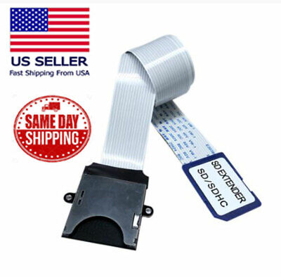£7.19 • Buy 10cm Full-Sized SD Card Extension Cable (SD To SD) Adapter Flexible Extender USA