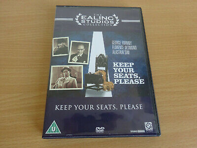 £8.89 • Buy Keep Your Seats Please DVD Ealing Studios George Formby VGC Free Post