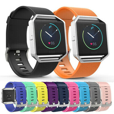 AU4.61 • Buy Soft Band Strap Sport Fashion Silicone Breathable Replacement For Fitbit Blaze