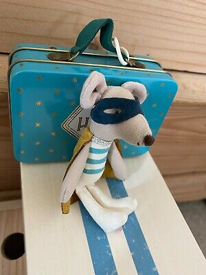 £29.99 • Buy Maileg Little Brother Superhero Mouse In Suit Case - Discontinued 2018 - Unused