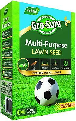 £10.10 • Buy Gro-sure Evergreen Multi Purpose Fast Grass Lawn Seed 10m2 Faster Germination