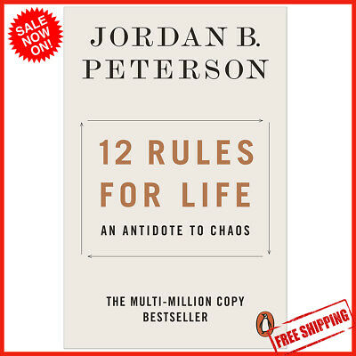 AU15.48 • Buy NEW 12 Rules For Life 2019 By Jordan B. Peterson Paperback Book | FREE SHIPPING