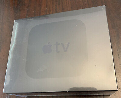 AU176.57 • Buy Apple TV HD 4th Generation A1625 Black 64 GB ~ NEW NEVER OPENED