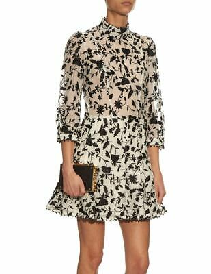 $259.90 • Buy Rare Zimmermann Master Embroidered Tuck Silk Dress Size 2 - Fits M Or US 6