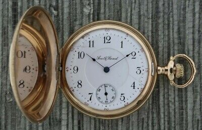 £215.68 • Buy Antique 16S South Bend Hunter Pocket Watch 280 Wear Permanently 30Y Gold Filled
