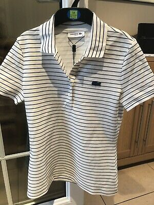 £30 • Buy Lacoste Womens Polo T Shirt BNWT New! Slim Fit Size 36